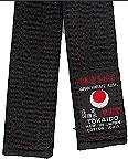 Martial Arts Belt Deluxe Black Belt Tokaido Cotton