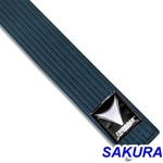 Martial Arts Karate Belt Midnight Blue Thunder