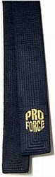 Martial Arts Belt Deluxe Black Belt Dark Blue