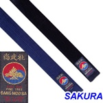 Martial Arts Karate Belt Midnight Blue Deluxe Pine Tree