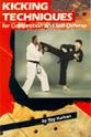 Martial Arts Books Kicking Techniques