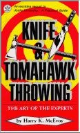 Martial Arts Books Knife Tomahawk Throwing