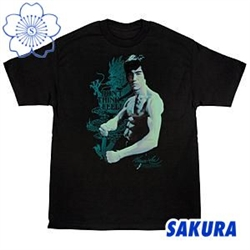 Martial Arts Supplies Clothing T-Shirt Bruce Lee Dont Think Feel