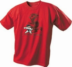Martial Arts Clothing T-Shirt Shadow Of Dragon