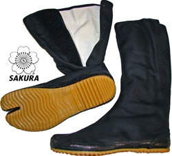 Martial Arts Clothing Shoes Ninja Ninjutsu Split Toe shoes Jika Tabi Boots Long Great Halloween Costume Accessory