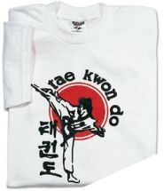 Martial Arts Clothing Shirt T-Shirt TKD