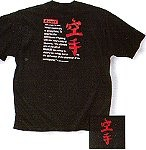 Martial Arts Clothing Shirt T-Shirt Karate