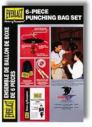Martial Arts Equipment Everlast Punching Set