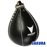 Martial Arts Equipment Leather Speed Bag