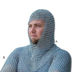 Martial Arts Medieval Chainmail Armor Shirt
