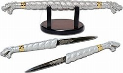 Martial Arts Medieval Fantasy Double Dragon Dagger