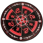 Martial Arts Novelties Dragon Target Board Red And Black