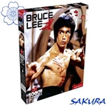 Martial Arts Novelties gifts presents Bruce Lee Fight Movie 1000 piece jigsaw puzzle
