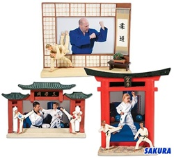 Martial Arts Novelties Resin Picture Frame