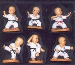 Martial Arts Novelties Figurine Karate Set