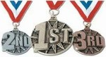 Martial Arts Novelties Place Medal