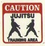 Martial Arts Novelties Parking Sign Caution Jujits
