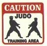 Martial Arts Novelties Parking Sign Caution Judo