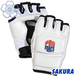 Martial Arts Protect Gear Taekwondo Open Finger Training Gloves