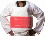 Martial Arts Protect Gear Striped Vest