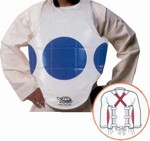 Martial Arts Protect Gear Reversible Dotted Vest