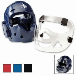 Martial Arts Supplies Protect Gear Head Guard Face Shield