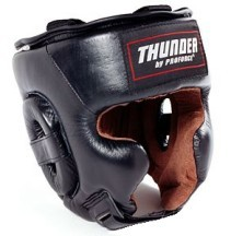 Martial Arts Protect Gear Leather Head Guard