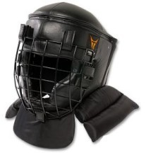 Martial Arts Protect Gear Head Guard Face Cage