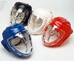 Martial Arts Protect Gear Headgear Face Mask
