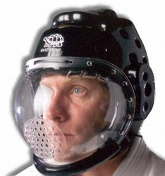 Martial Arts Protect Gear Headgear Face Shield