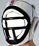 Martial Arts Protect Gear Face Cage Headguard