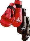 Martial Arts Protect Gear Padded Hand Glove