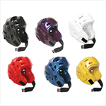Martial Arts Protect Gear Head Guard Layered