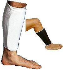 Martial Arts Protect Gear Cloth Shin Guards