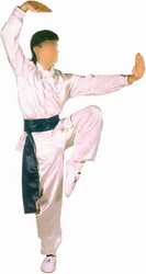 Martial Arts Uniforms Silk Kung Fu