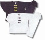 Martial Arts Uniforms Kung Fu V-Neck