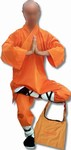 Martial Arts Uniforms Monk Robe Shaolin Warrior