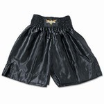 Martial Arts Uniform Satin Boxing Trunks