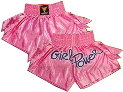 Martial Arts Uniform Kickboxing Girl Power Short