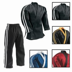 Martial Arts Uniform Stripe Team