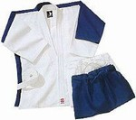 Martial Arts Uniform Judo Jujutsu Blue Heavy