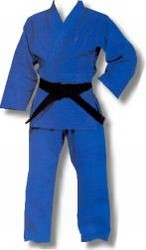 Martial Arts Uniform Judo Jujutsu Blue Single