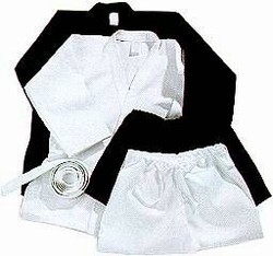 Martial Arts Uniform Karate Drawstring Heavy