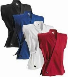 Martial Arts Uniforms Karate Sleeveless Cotton Top