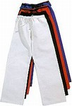 Martial Arts Uniforms Karate Heavy Pants