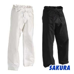 Martial Arts Uniforms Karate Pants Cotton 12 oz Traditional Drawstring Waist Gladiator
