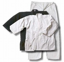 Martial Arts Uniforms Karate Heavy Elastic Waist