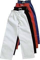 Martial Arts Uniforms Karate Elastic Waist Pants