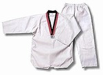 Martial Arts Uniforms Taekwondo Poom V-Neck
