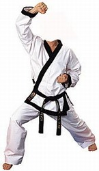 Martial Arts Uniforms Tangsoodo Trimmed